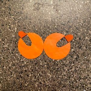 Kendra Scott Orange earrings